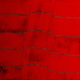 Earth Lines Red Mat #4 147X152cm